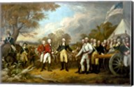 Surrender of British General John Burgoyne Fine-Art Print