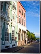Typical Colonial Architecture, San Juan, Puerto Rico, Fine-Art Print