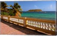 Puerto Rico, Esperanza, Vieques Island and boats Fine-Art Print