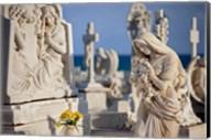 Memorial Angel, Cemetery, San Juan, Puerto Rico Fine-Art Print
