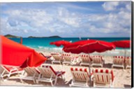 Orient Beach, St Maarten, French West Indies Fine-Art Print