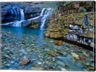 Cameron Falls, Waterton Lakes NP, Alberta, Canada Fine-Art Print