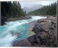 Mistaya River in Banff National Park in Alberta, Canada Fine-Art Print