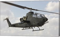 An AH-1S Tzefa attack helicopter of the Israeli Air Force Fine-Art Print