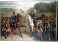 Genernals Lee and Jackson on Horseback Fine-Art Print