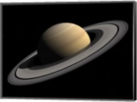 Artist's concept of Saturn Fine-Art Print