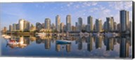 City Skyline, False Creek, Vancouver, British Columbia Fine-Art Print