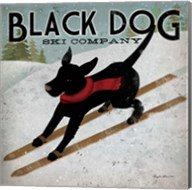 Black Dog Ski Co. Fine-Art Print