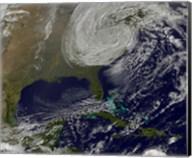 Post Tropical Storm Sandy Rolling Inland Fine-Art Print