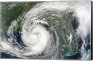Hurricane Isaac in the Gulf of Mexico Fine-Art Print