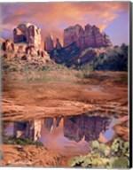 Cathedral Rock Reflected - Sedona Fine-Art Print