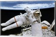 Astronaut Participates in Extravehicular Activity Fine-Art Print