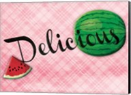 Delicious Watermelons - Pink Fine-Art Print
