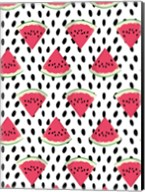 Watermelon Seeds Pattern Fine-Art Print