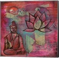 Buddha Lotus Fine-Art Print