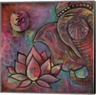 Ganesha Lotus Fine-Art Print