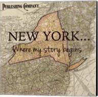 New York My Story Fine-Art Print