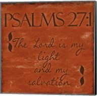 Psalms 27-1 Fine-Art Print