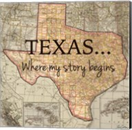 Texas My Story Fine-Art Print