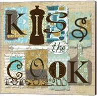 Kiss the Cook Fine-Art Print