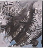 The McMurdo Dry Valleys West of McMurdo Sound, Antarctica Fine-Art Print