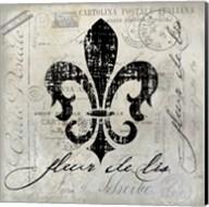 Fleur De Lis Vintage Fine-Art Print