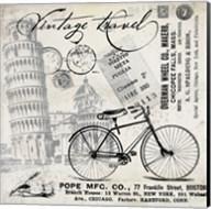 Vintage Travel Italia I Fine-Art Print