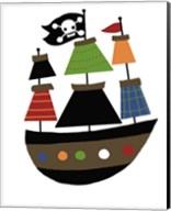 Pirate Ship Fine-Art Print