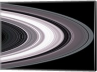 Small Particles in Saturn's Rings Fine-Art Print