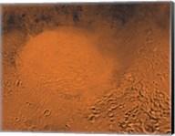 Hellas Planitia Region of Mars Fine-Art Print