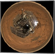 Mars Exploration Rover on the Surface of Mars Fine-Art Print