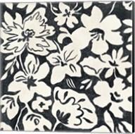 Chalkboard Floral II Fine-Art Print