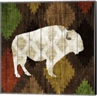 Southwest Lodge - Buffalo Fine-Art Print