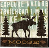 Simple Living Moose Fine-Art Print