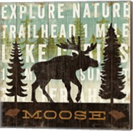 Simple Living Moose Fine-Art Print