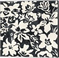 Chalkboard Floral I Fine-Art Print