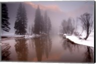 Valley mist, Yosemite, California Fine-Art Print