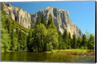 Merced River on the Valley Floor, Yosemite NP, California Fine-Art Print