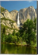 Upper Yosemite Falls, Merced River, Yosemite NP, California Fine-Art Print