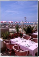 Riviera Cafe, Cannes, France Fine-Art Print
