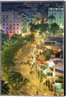 Overview of La Pantiero, Cannes, France Fine-Art Print