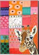 Paradise Giraffe Fine-Art Print