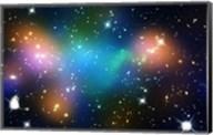 Galaxy Cluster Abell 520 (HST-CFHT-CXO Composite) Fine-Art Print