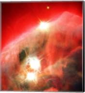 Edifice of Gas and Dust in the Cone Nebula Fine-Art Print