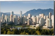 Skyline of Vancouver, British Columbia, Canada Fine-Art Print