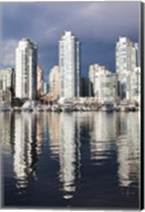 Buildings along False Creek, Vancouver, British Columbia, Canada Fine-Art Print