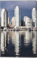 Buildings along False Creek, Vancouver, British Columbia, Canada Fine-Art Print