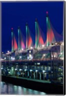Dawn, Canada Place, Vancouver, British Columbia, Canada Fine-Art Print