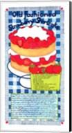 Old Fashioned Strawberry Shortcake Fine-Art Print