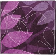 Purple Leaves Fine-Art Print